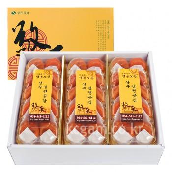 상주경천곶감 반건시 <br>특상품 2단배열 6팩 60g 60개